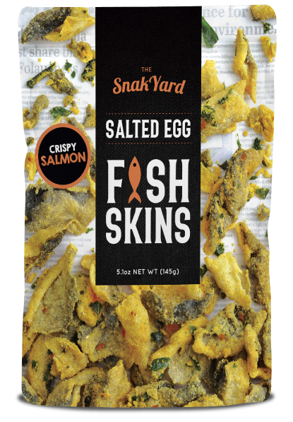 Salted Egg Fish Skins