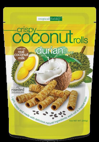Durian Coconut Rolls